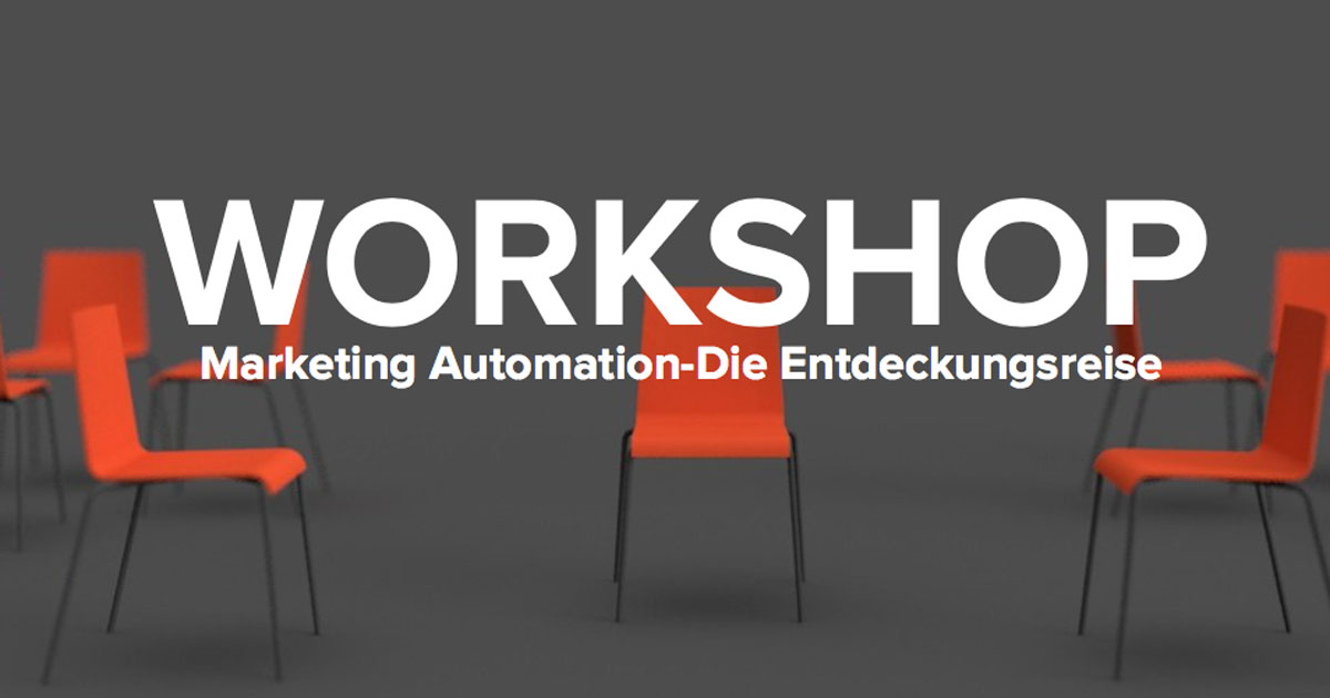 Workshop Marketing Automation